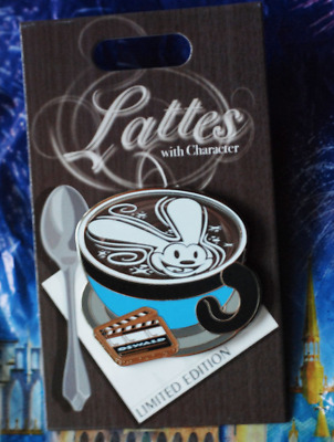 Disney Lattes With Character Inc. Oswald Pin Month LE 3000 Latte Coffee Latte's