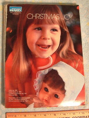 Vtg Montgomery Ward CATALOG Christmas Joy 1973 Wards Toys Dolls Barbie GI Joe &&