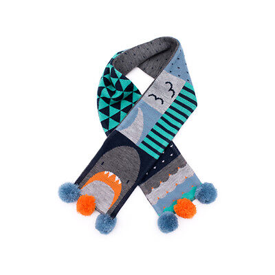 NEW Billy Loves Audrey Shark Scarf Free Shipping Children Baby