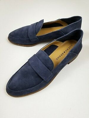 ebb9256061d Lucky Brand Women s Size 7M Moroccan Blue Chennie Suede Loafer