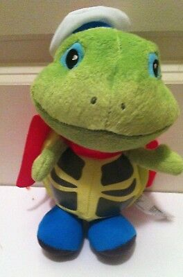 Wonder Pets Plush Ty SIZE Tuck Turtle with Cape 7
