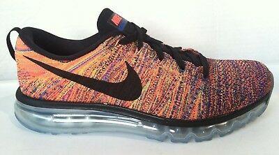 detailed look f3c69 6af3c Nike Air Max 2015 Flyknit Multicolor (620469 012) Men s Shoes SZ 11.5 MINT
