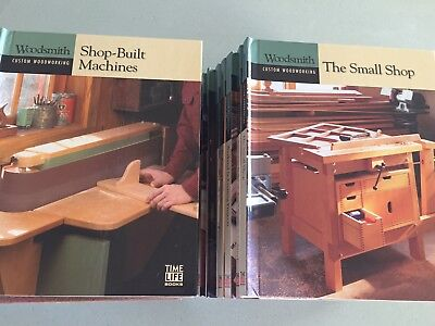 Woodsmith Professional Woodworking Books 20 Volumes