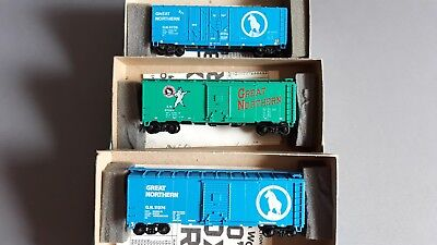 Athearn Vintage Us Freight Cars X 3 With Kadees V.good Cond Boxed Ho Scale(Ln 16