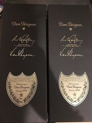 New Champagne Dom Perignon 2008 LEGACY EDITION LIMITED Chef Cave 98points!Sealed