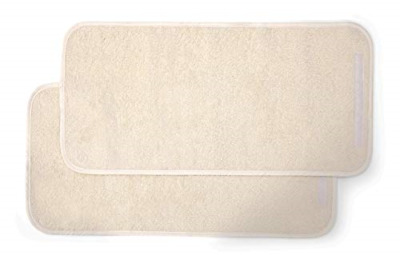 Mamas & Papas Luxury Super Soft Nappy Changing Mattress Liners - Cream Pack