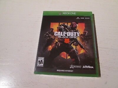 Call of Duty: Black Ops 4 (Xbox One). Brand New & Factory Sealed. Free Shipping.