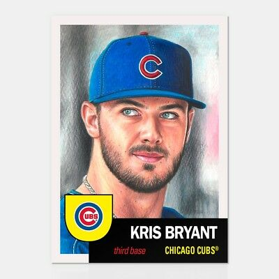 In hand...ready to ship!! 2018 Topps Living Set #127 KRIS BRYANT FREE SHIPP!