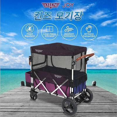 Keenz 7S Moov Folding Wagon Stroller Mosquito Net Bug Insect Shield Fly Screen
