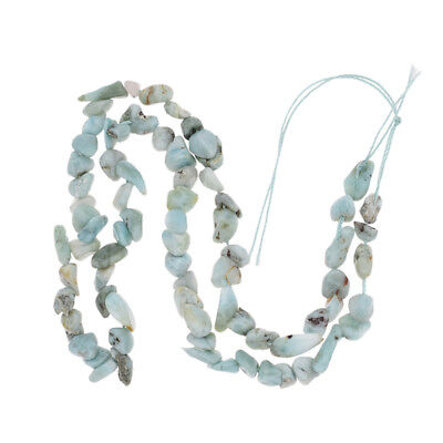 6-8mm Freeform Larimar Bead Natural Stone Beads for Necklace DIY Jewelry Making
