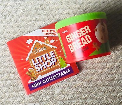 Coles Little Shop Christmas Edition Ginger Bread Ice Cream