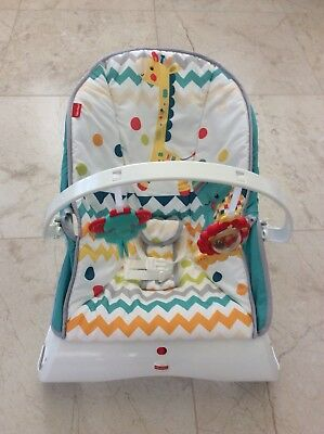 Fisher Price Carnival Baby Bouncer Vibrating Chair