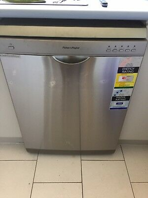 Fisher & Paykel Stainless Steel Dishwasher DW60CSX1
