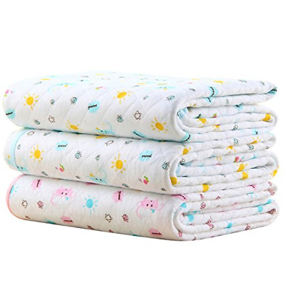 Baby Kid Waterproof Changing Pad - Mattress Pads Diapering Sheet Protector Pads