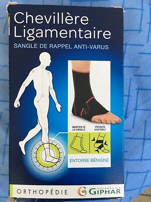 chevillère ligamentaire giphar taille 1