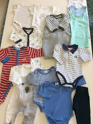 Baby Boy Clothes Bundle 3-6 Months 00 Ollie's Place Babaluno
