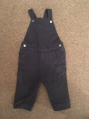 Autograph, M&S Boys Dungarees, 9-12, navy months