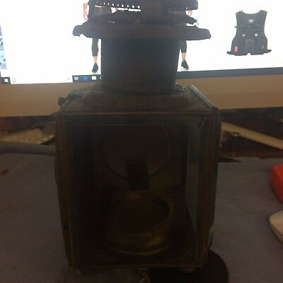 Old Oil Lamp Train Or Truck