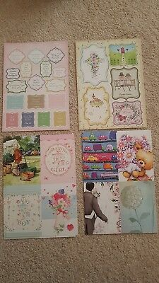 Hunkydory Printed Sheets - Mixed Job lot