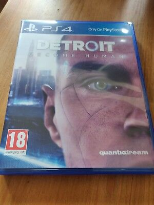 Detroit: Become Human - PS4 - great condition!
