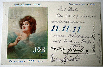 AK Zigaretten Werbung Collection JOB Calendrier 11.11.11