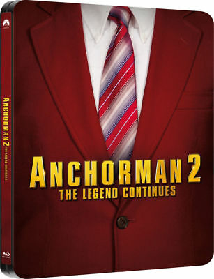 Anchorman 2: The Legend Continues (Entertainment Store Ex Blu-ray Steelbook) [UK