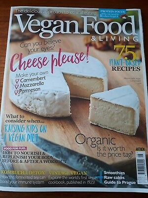 Vegan food and living magazine March 2017
