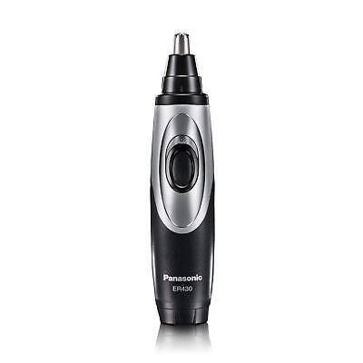 EarNose Trimmer With Vacuum Cleaning System, Mens Wet/Dry, Battery-Operated Kit
