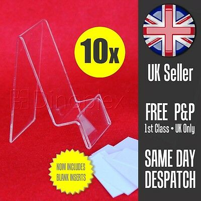 10x Mobile Phone Smartphone Retail Display Stand Support with Label Holder Tab