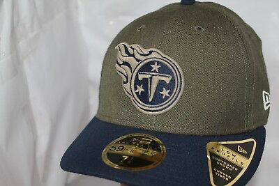 promo code fe21a 78796 Tennessee Titans NFL New Era Salute To Service Low Profile 59Fifty Hat