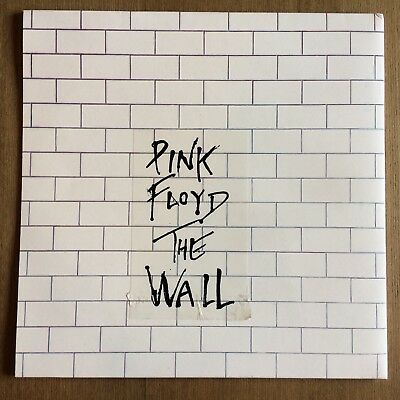* PINK FLOYD - THE WALL - 1979 Re-issue UK DOUBLE LP NM VINYL *