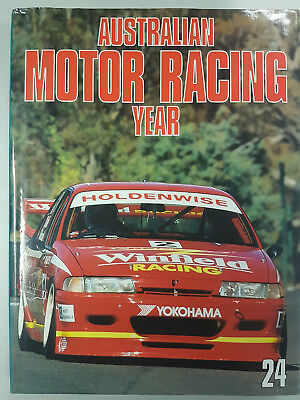 Australian Motor Racing Year Book #24 1994/95 Very Good Condition
