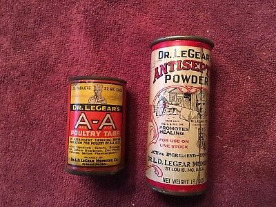 Dr. Legear's Poultry Tabs And Antiseptic Powder
