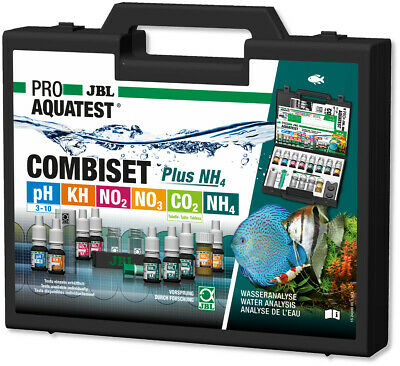 JBL Aquarium Water Test CombiSet Testing Kit Master Combi Set Freshwater Case