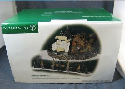 Dept 56 Christmas In The City - Zoological Garden 58978 Set 7 Brand New In Box