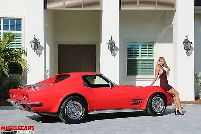 1972 Chevrolet Corvette Stingray T Top 1972 Chevrolet Stingray T Top Corvette
