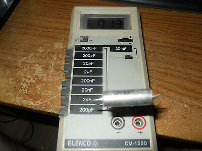 Elenco CM-1550 Digital Capacitance Meter