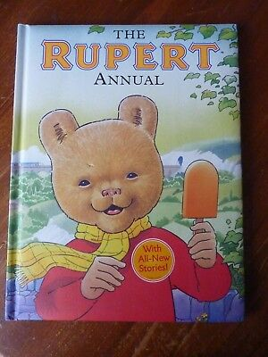 2008 Large '' The Rupert Annual '' (  With Soft Cover ) Un - Clipped