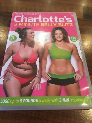 Charlotte Crosby 3 Minute Belly Blitz DVD