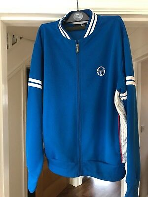 Sergio Tacchini Long-Sleeved Zip-Up Top Size XL