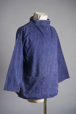 VTG 1940'S  Sarmo Pullover Jacket All Cotton Sanforized Shrunk Made in England
