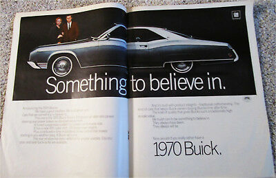 1970 Buick Riviera 2 dr ht car ad