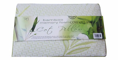 Kids Soft COT Pillow Bamboo Cot/Crib Breathable Cover Foam Baby Toddler Pillows