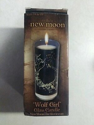 Twilight New Moon Wolf Girl Candle New In Box NECA