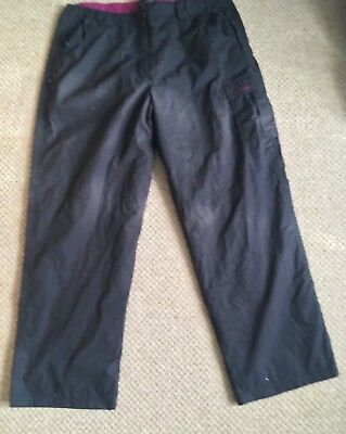 Mountain Life Winter Trek Trousers Size 18 30 inch leg Snuggly!