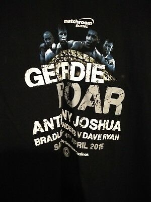 "Anthony Joshua""Geordie Roar"" T Shirt XXL"
