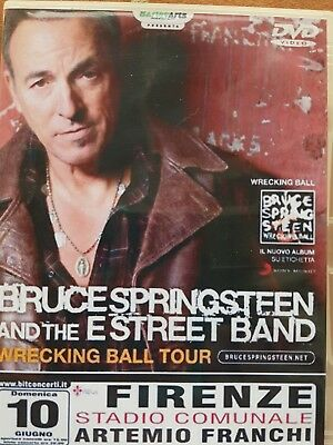 2dvds Bruce Springsteen firenze 2012 DVDR