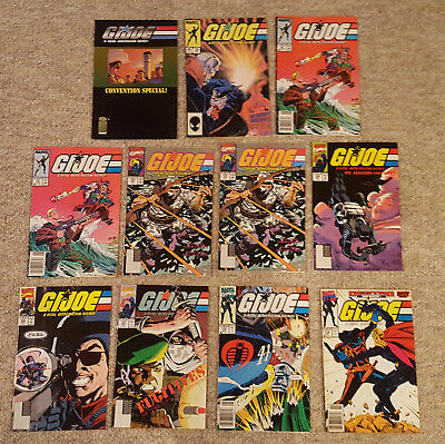 G.I. Joe Comics Lot of 11