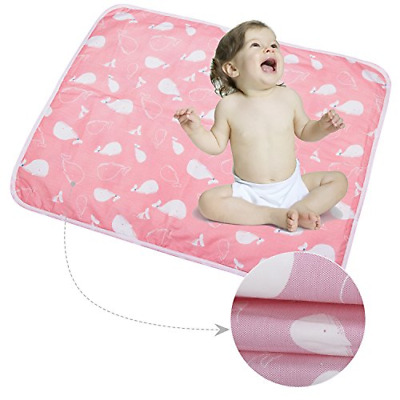 3PCS Infant Waterproof Urine Mat Cover - Breathable Changing Pad Protector for L