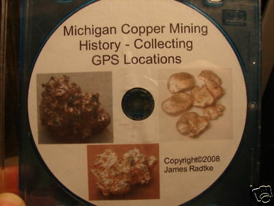 Michigan Copper Mines History Collecting GPS Locations PDF Download